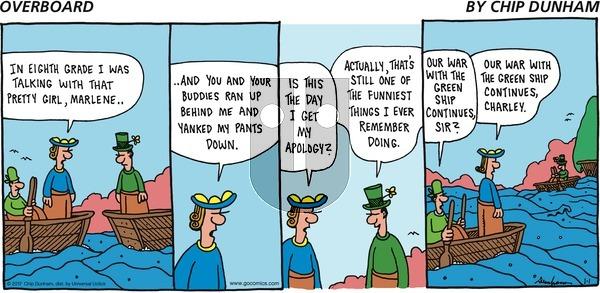 Overboard on Sunday January 1, 2017 Comic Strip