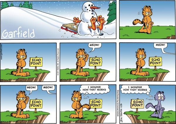 Garfield for Jan 23, 2011 Comic Strip