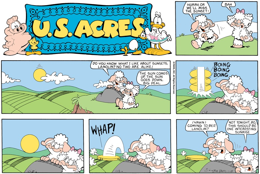 U.S. Acres Comic Strip for February 17, 2019