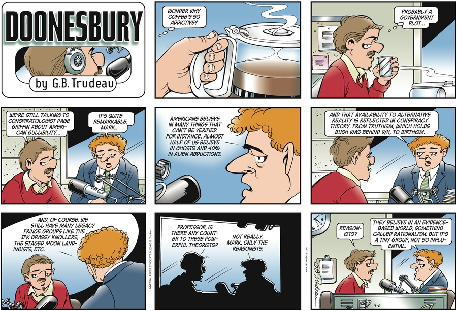 Doonesbury Comic Strip for September 06, 2009