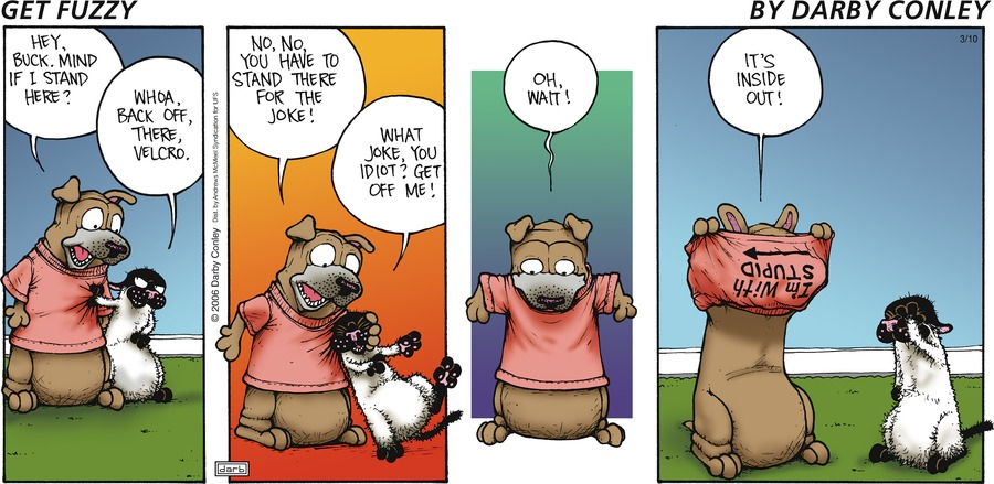 Get Fuzzy Comic Strip for March 10, 2019