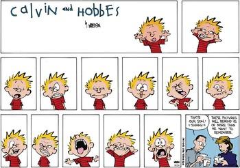 Calvin and Hobbes (November 11, 1990)