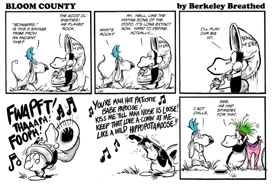 Bloom County 2018 by Berkeley Breathed for November 02, 2018