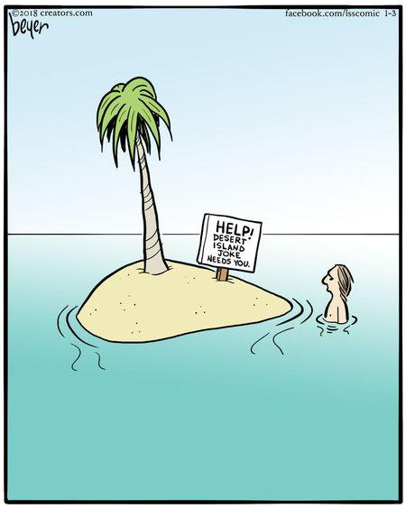 Long Story Short Comic Strip for January 18, 2020