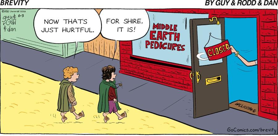 Brevity Comic Strip for June 03, 2012
