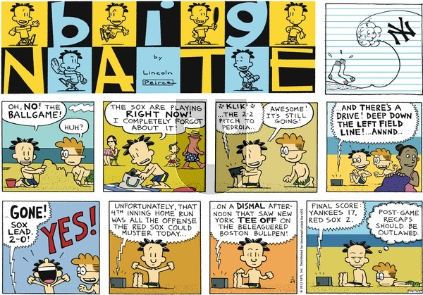 Big Nate on Sunday July 29, 2012 Comic Strip