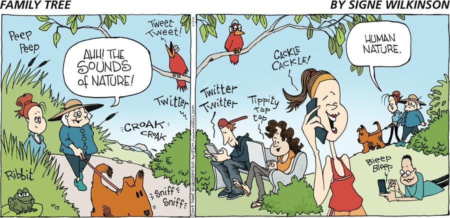 Family Tree Comic Strip for April 19, 2009