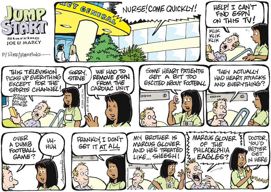 JumpStart for Nov 5, 2006 Comic Strip
