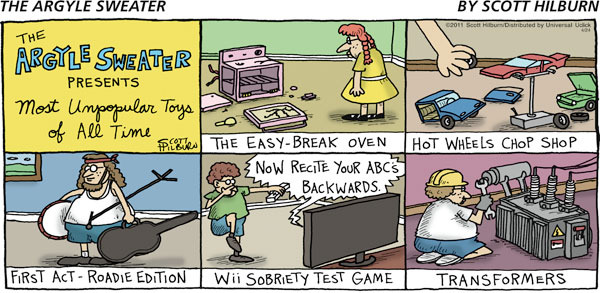 The Argyle Sweater for Apr 24, 2011 Comic Strip
