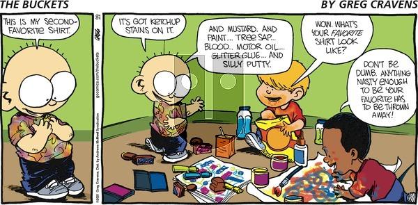 The Buckets on Sunday April 4, 2021 Comic Strip