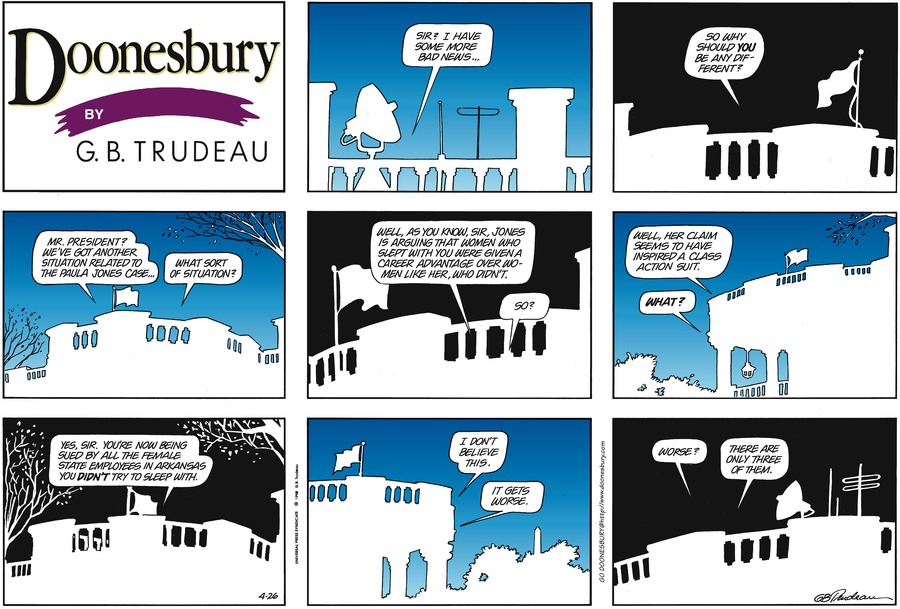 Doonesbury for Apr 26, 1998 Comic Strip