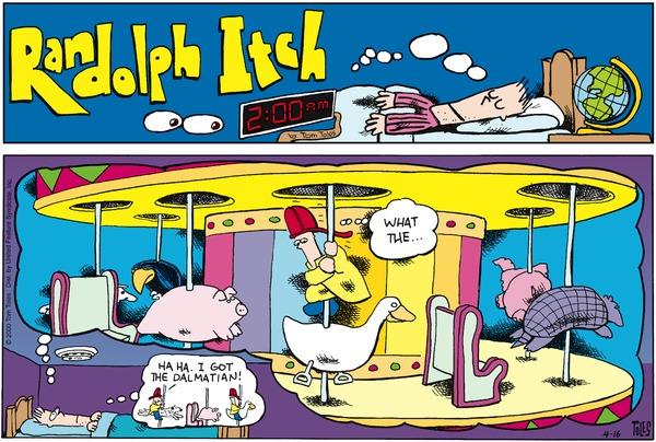 Randolph Itch, 2 a.m.