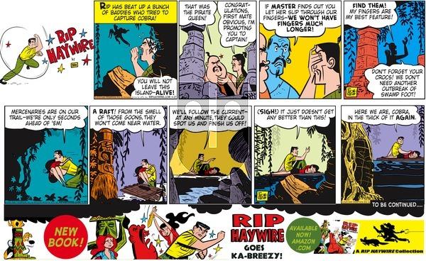 Rip Haywire on Sunday October 4, 2015 Comic Strip