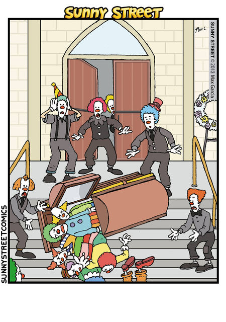Sunny Street Comic Strip for May 19, 2016