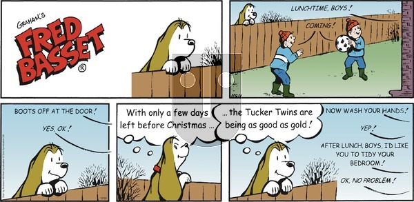 Fred Basset on Sunday December 20, 2020 Comic Strip