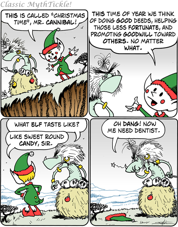 MythTickle Comic Strip for December 30, 2015