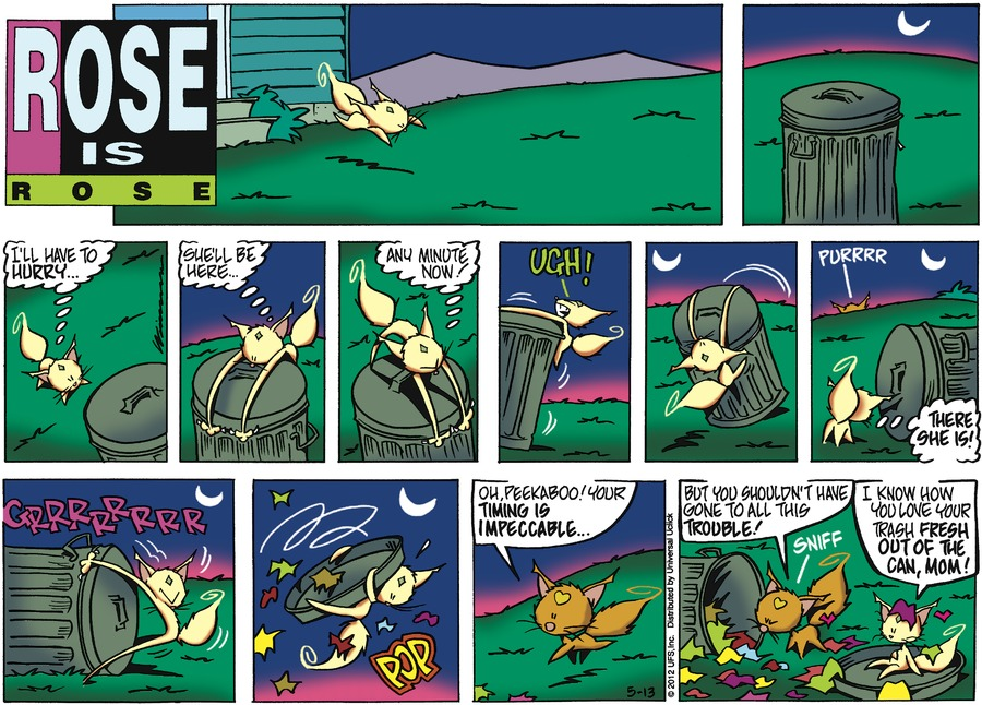 Rose is Rose Comic Strip for May 13, 2012