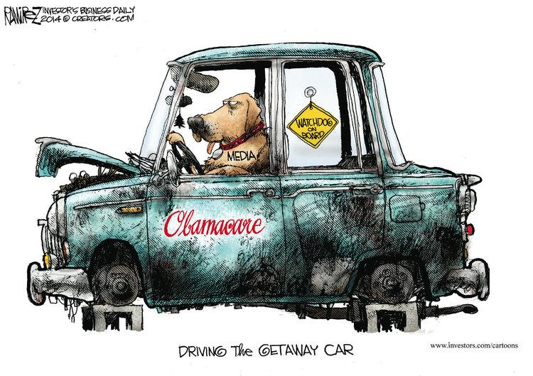 Michael Ramirez for Dec 7, 2014 Comic Strip