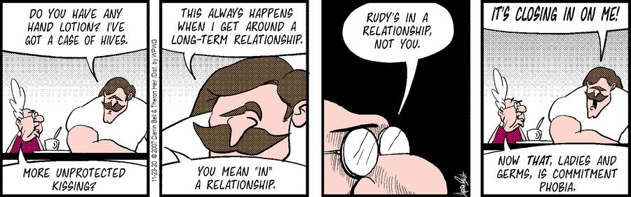 Rudy Park Comic Strip for November 23, 2020