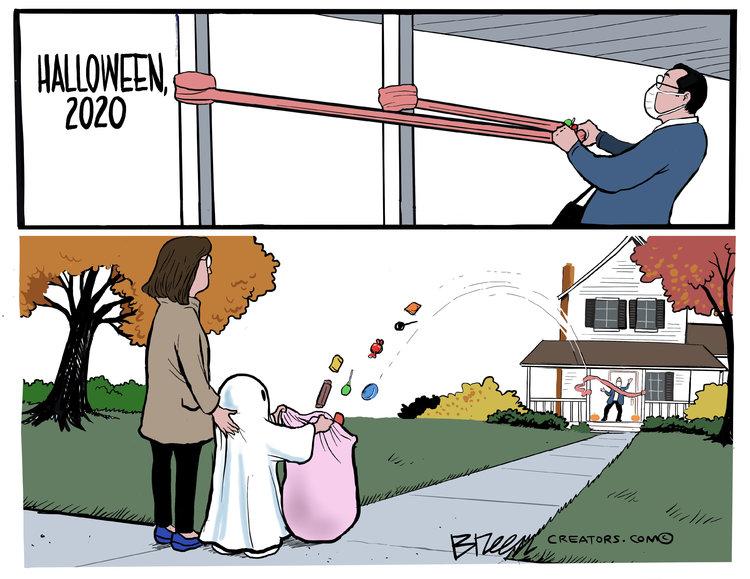 Steve Breen Comic Strip for October 18, 2020