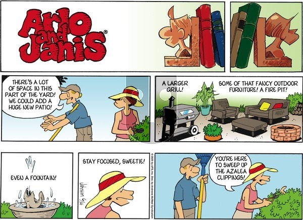 Arlo and Janis on Sunday June 14, 2020 Comic Strip