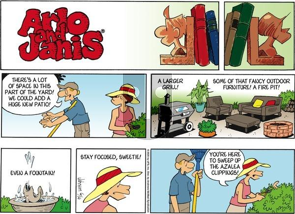 Arlo and Janis - Sunday June 14, 2020 Comic Strip