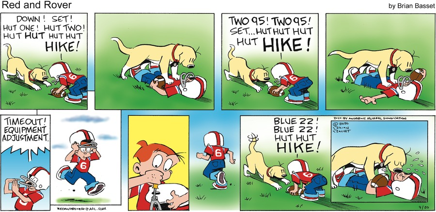 Red and Rover Comic Strip for September 20, 2020