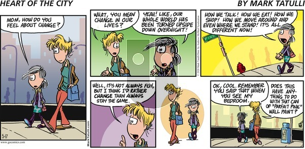 Heart of the City on Sunday May 17, 2020 Comic Strip