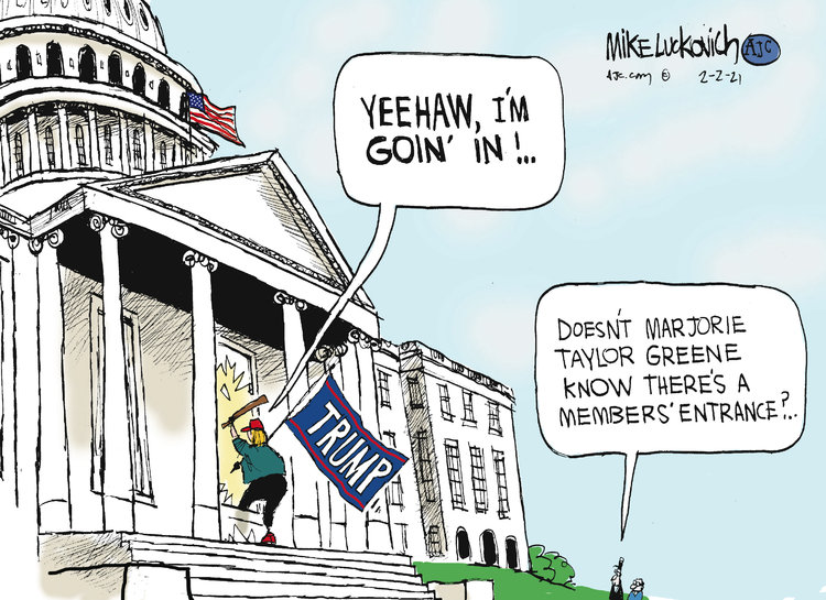 Mike Luckovich by Mike Luckovich on Tue, 02 Feb 2021