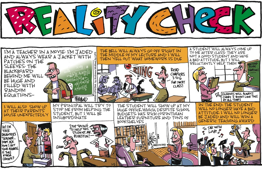 Reality Check Comic Strip for January 05, 2020