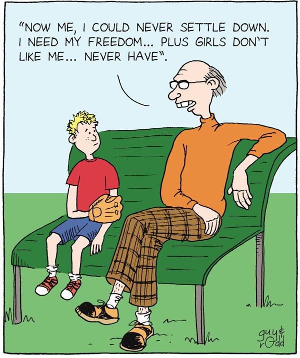 Brevity for Sep 30, 2005 Comic Strip