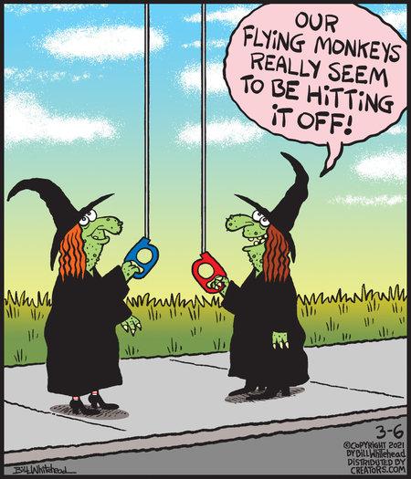 Free Range Comic Strip for March 06, 2021
