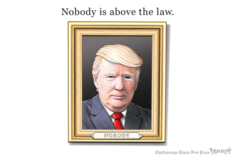 Clay Bennett Comic Strip for July 28, 2019