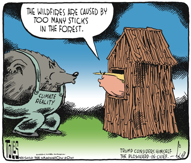 Tom Toles Comic Strip for September 20, 2020