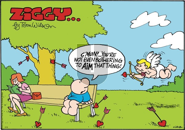 Ziggy on Sunday February 16, 2020 Comic Strip