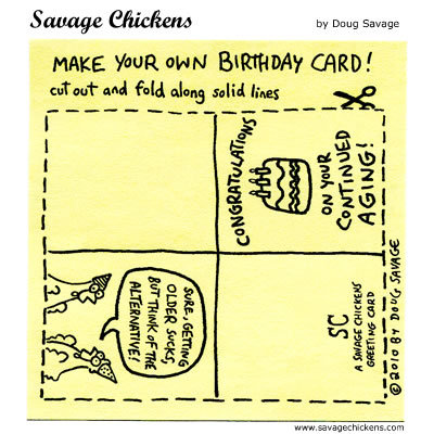 Savage Chickens Comic Strip for August 21, 2014