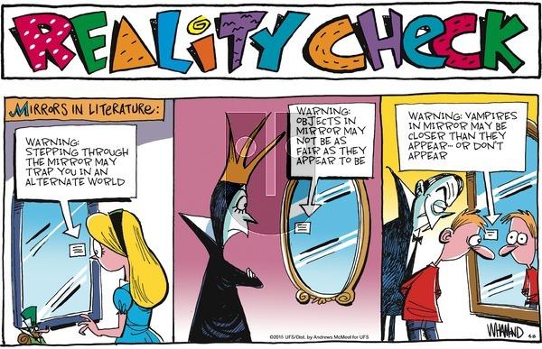Reality Check on Sunday April 8, 2018 Comic Strip