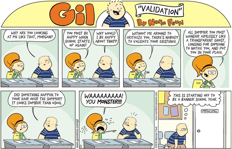 Gil Comic Strip for September 13, 2020