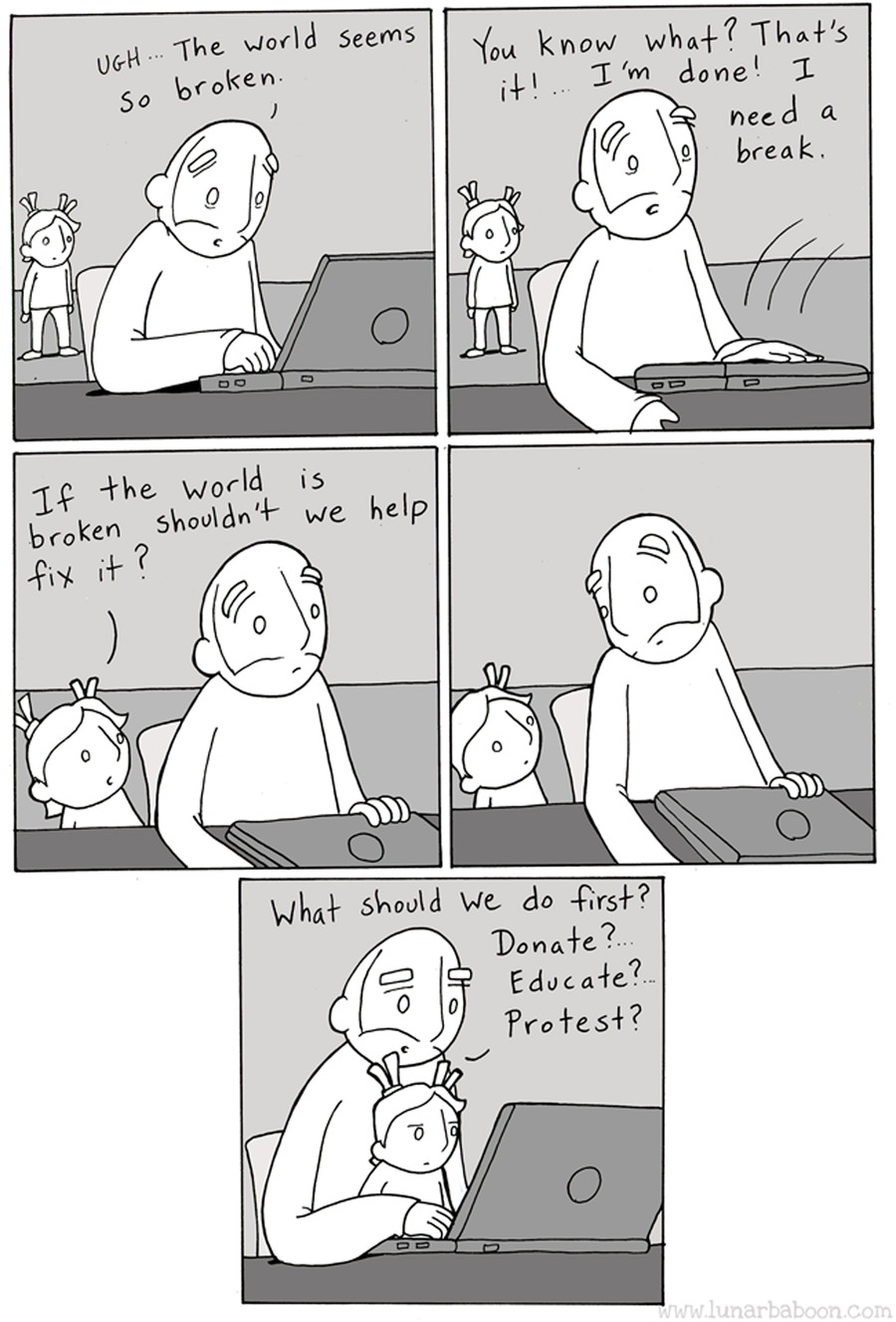 Lunarbaboon Comic Strip for July 12, 2020