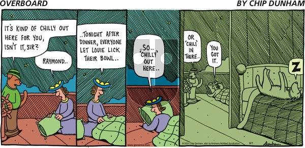 Overboard on Sunday August 1, 2021 Comic Strip