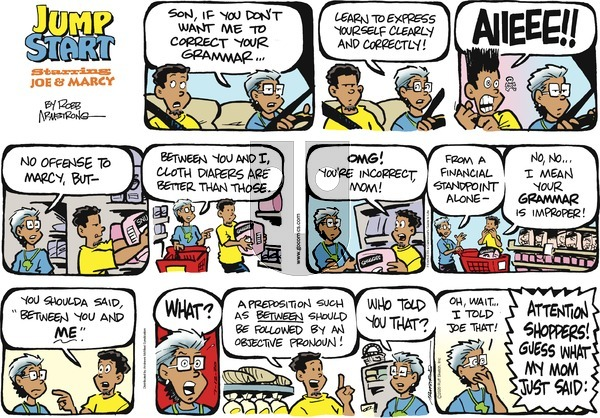 JumpStart on Sunday July 12, 2020 Comic Strip