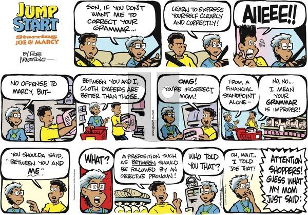 JumpStart - Sunday July 12, 2020 Comic Strip
