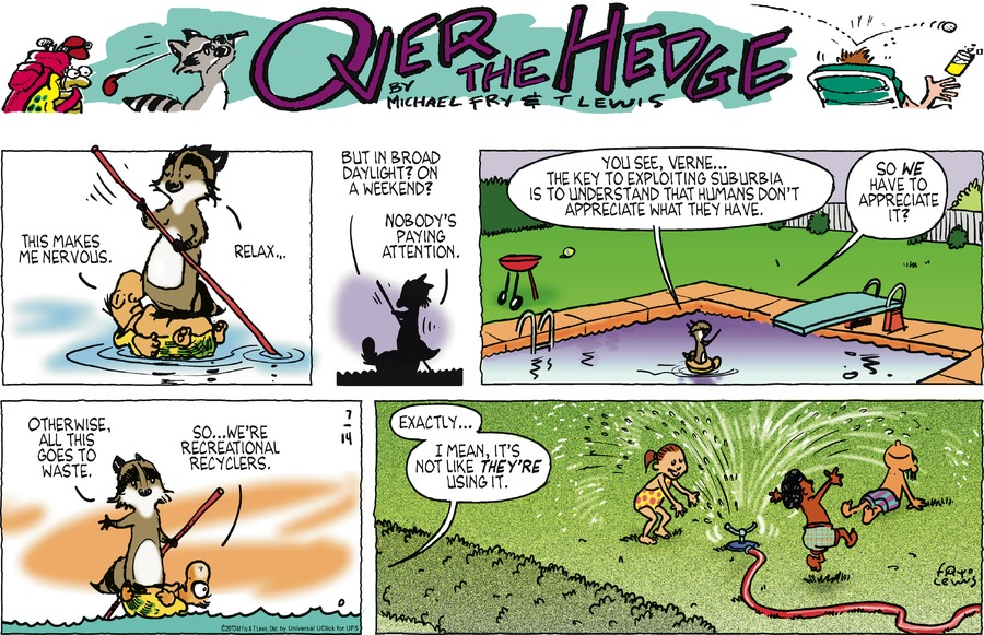 Over the Hedge for Jul 14, 2013 Comic Strip