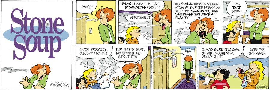 Stone Soup Classics Comic Strip for January 17, 2021