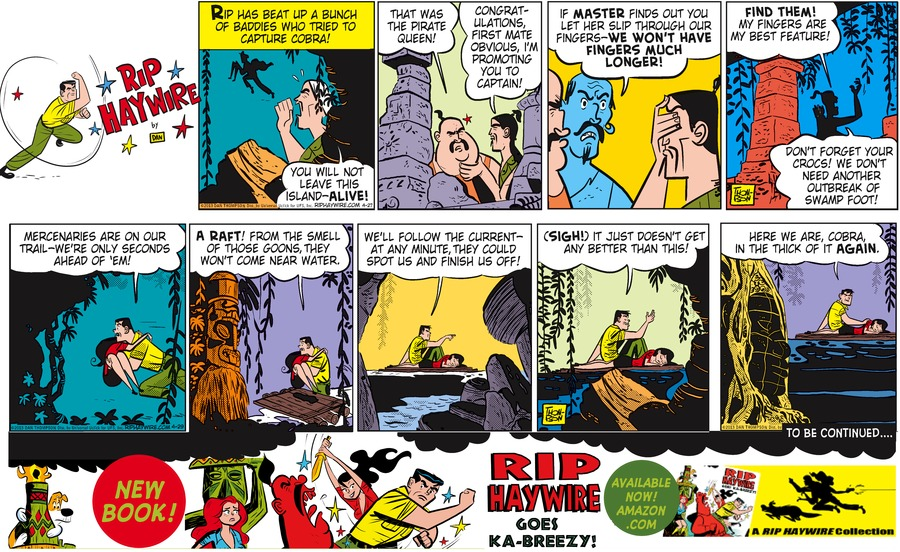 Rip Haywire Comic Strip for October 04, 2015