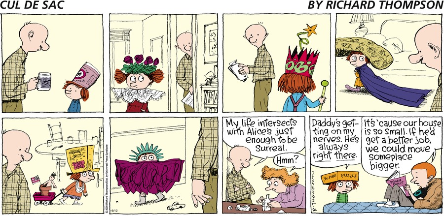 Cul de Sac Comic Strip for June 12, 2016