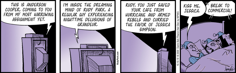 Rudy Park Comic Strip for October 10, 2019