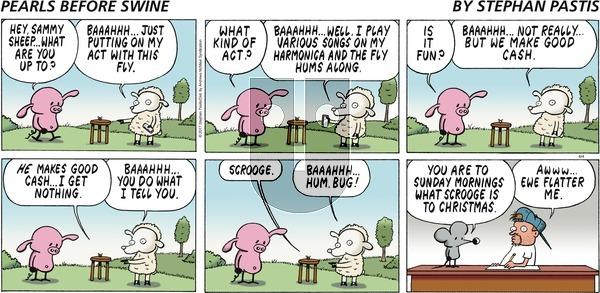 Pearls Before Swine on Sunday June 4, 2017 Comic Strip