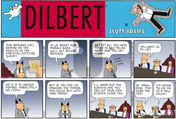 Dilbert - Sunday August 29, 2004 Comic Strip