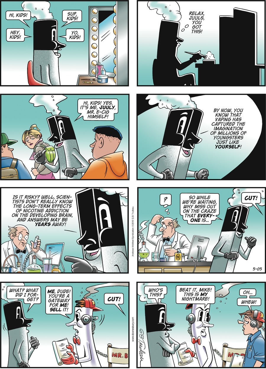 Doonesbury Comic Strip for May 05, 2019